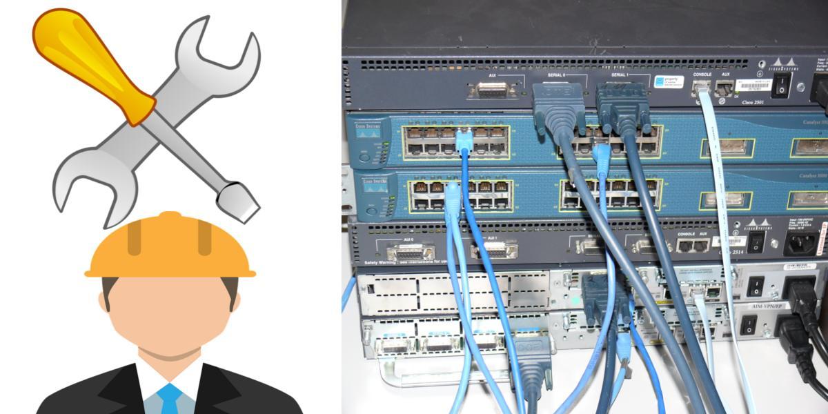 صيانة شبكات الانترنت